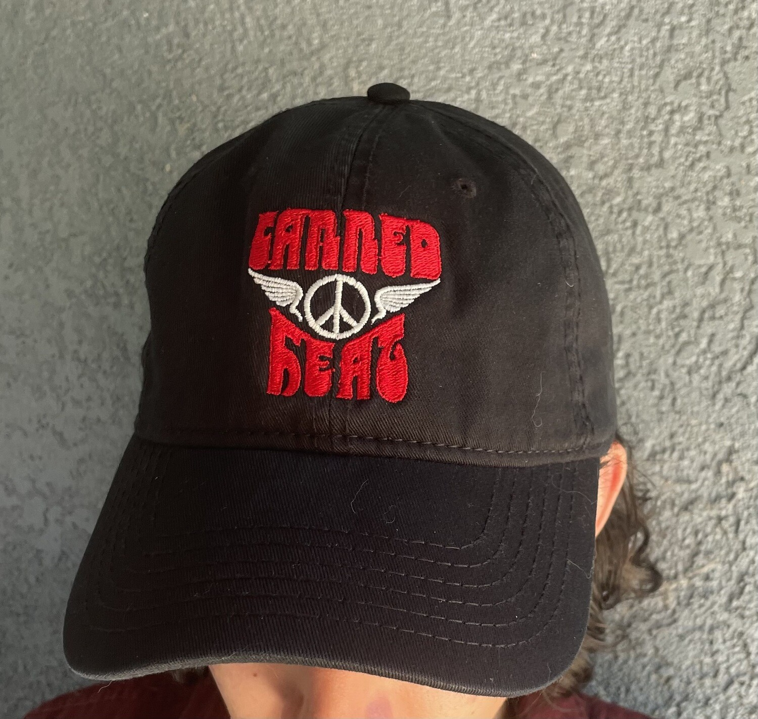 Canned Heat Baseball Cap (Red)