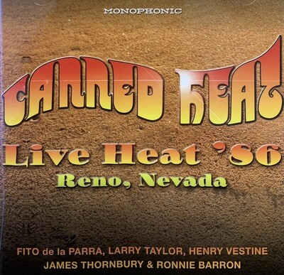 Live Heat '86 CD