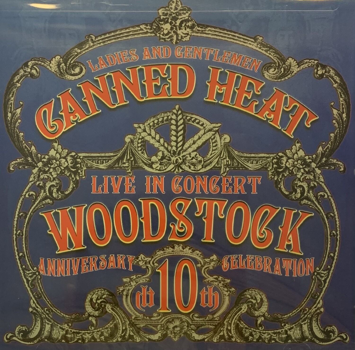 Canned Heat 10th Anniversary of Woodstock CD