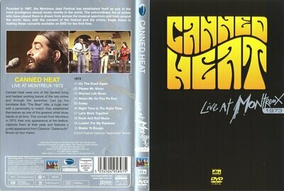 Boogie with Canned Heat Live at Montreux (2 DVD Set)