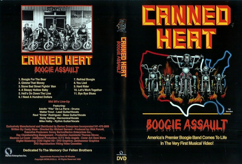 Boogie Assault DVD 1982 NTCS Only