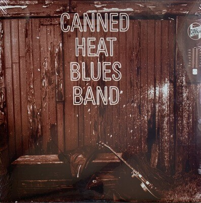 Canned Heat Blues Band LP (Trans Gold Vinyl - Limited Anniversary Edition 1/2500)