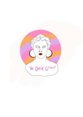 The Queer Classicist Logo Sticker