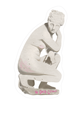 Aphrodite with Stretchmarks Sticker
