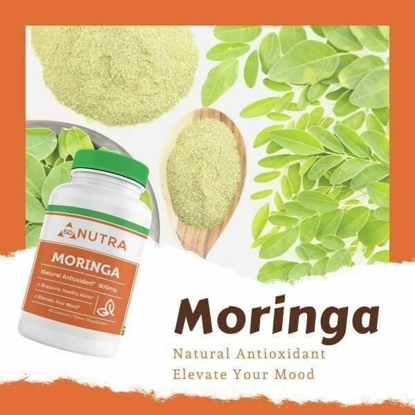 Moringa Oleifera (Leaf) 60 Caps