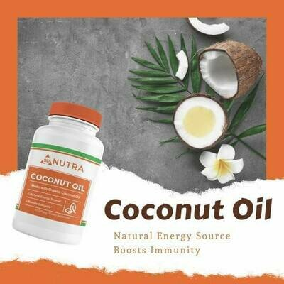 Organic Coconut Oil 60 Softgels