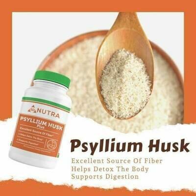 Psyllium Husk Plus 60 Caps