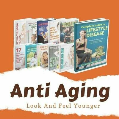 Anti Aging Diet and Skincare