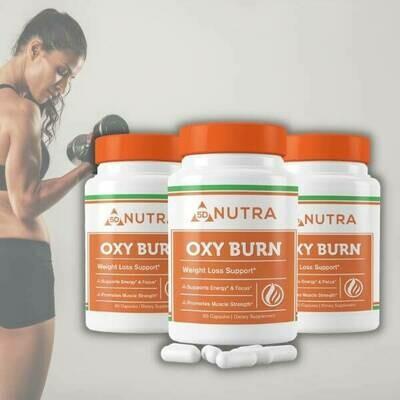 Oxy Burn 60 Caps - 3 Bottles