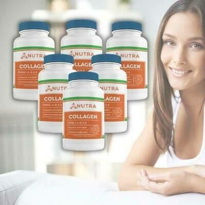 Collagen Complex 90 Caps- 6 Bottles