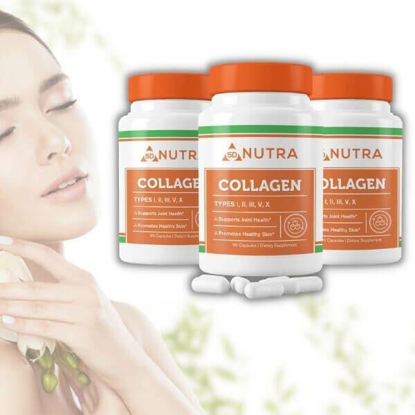 Collagen Complex 90 Caps - 3 Bottles