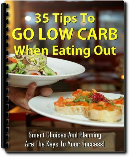 FREE Report - 35 Ways To Eat Keto When Dining Out