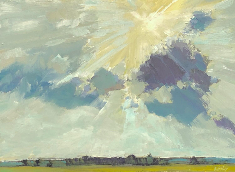 Sunlit Path, 9