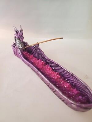 Purple Dragon Incense Burner