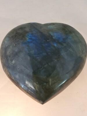 Labradorite Hearts Large