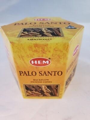 Palo Santo Backflow Cones