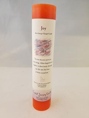 Joy Pillar Candle