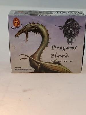 Dragon Incense Cones 10 ct