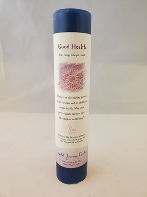 Good Health Pillar Candle