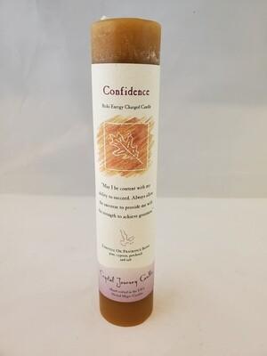 Confidence Pillar Candle