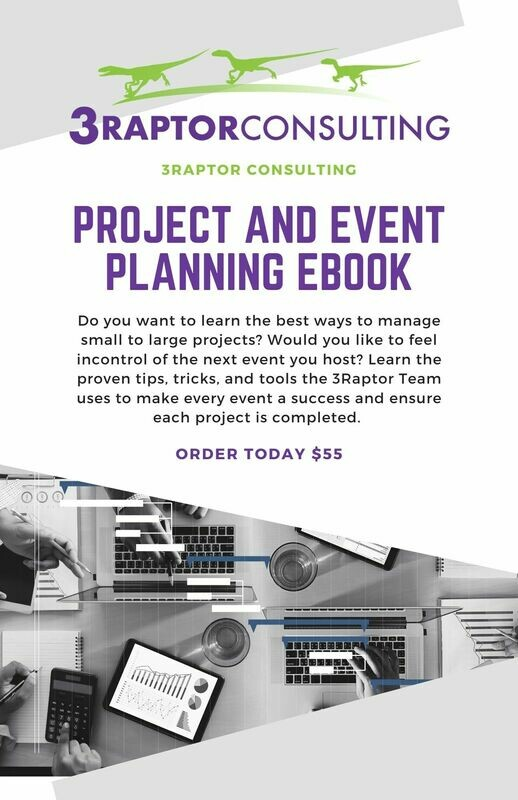 Project and Event Planning E-Book