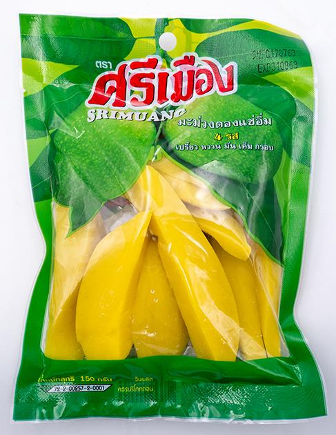 Pickled Mango   มะม่วงดองแช่อิ่ม 4 รส