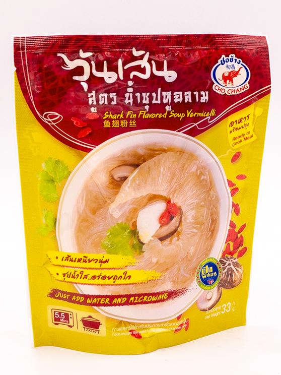 Shark Fin Flavored Soup Vermicelli | วุ้นเส้นสูตรน้ำซุปหูฉลาม