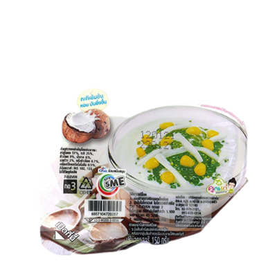 Sago with Corn in Coconut milk   7-11 สาคูเปียกข้าวโพด