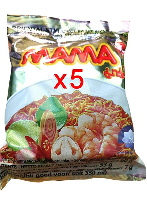 ต้มยำกุ้ง 60g (Pack 5)
