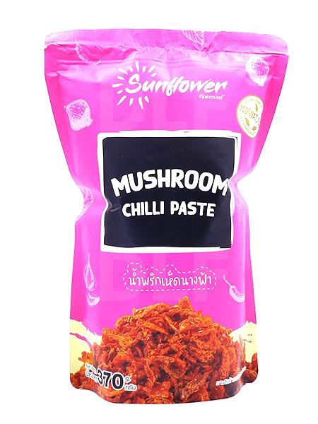 Mushroom Chili Paste   น้ำพริกเห็ดนางฟ้า