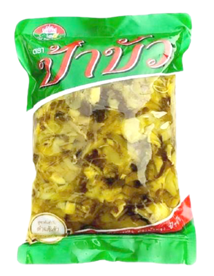 Sour Pickled Chinese Mustard (Mince)   ผักกาดดองเปรี้ยว สับฝอย