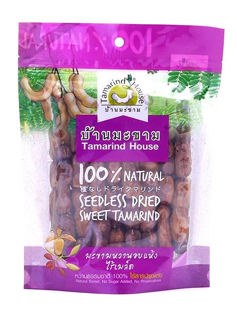Seedless Dried Tamarind | มะขามแกะเมล็ดอบแห้ง