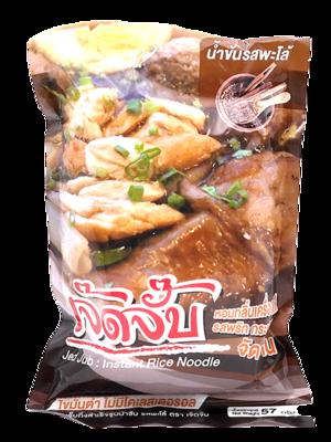 Instant Rice Noodle Pa-Lo Duck Flavor | ก๋วยจั๊บกึ่งสำเร็จรูปน้ำข้น รสพะโล้