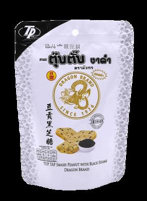 Tup Tap Smash Peanut with Black Sesame   ขนมตุ๊บตั๊บ รสงาดำ
