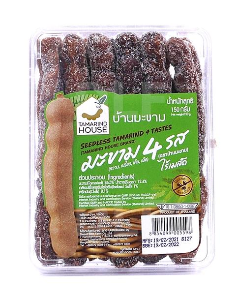 Seedless Tamarind 4 Tastes | มะขาม 4 รส ไร้เมล็ด