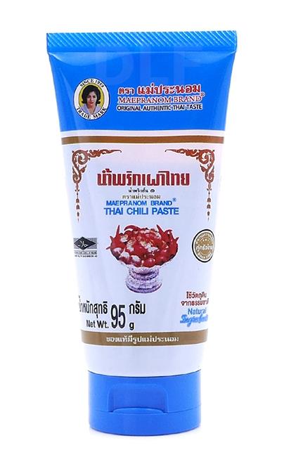 Thai Chili Paste   น้ำพริกเผาไทย แบบหลอด