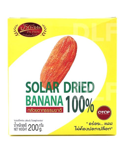 กล้วยตากธรรมชาติ