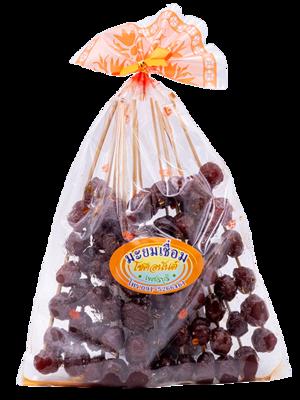 Sweet Dried Star Gooseberry   มะยมเชื่อมเสียบไม้ (คัดไซส์)