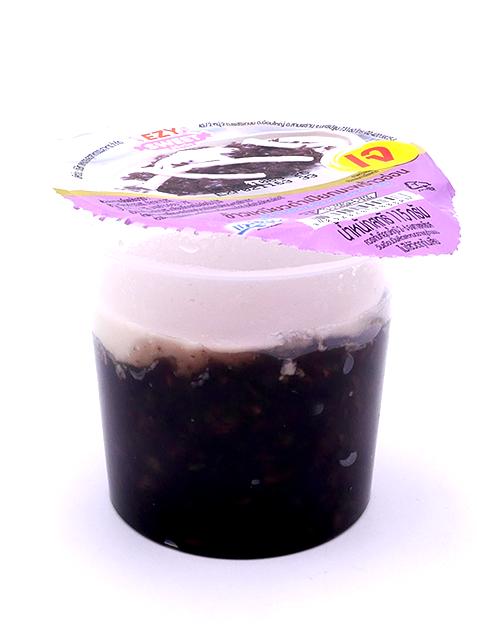 Black Sticky Rice With Coconut Milk | 7-11 ข้าวเหนียวดำเปียกมะพร้าวอ่อน