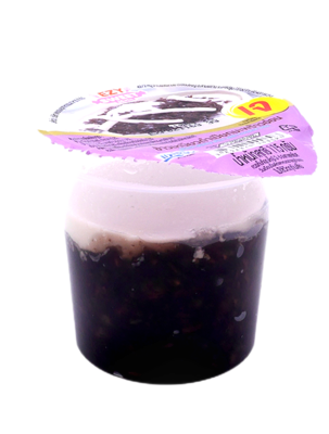 Black Sticky Rice With Coconut Milk   7-11 ข้าวเหนียวดำเปียกมะพร้าวอ่อน