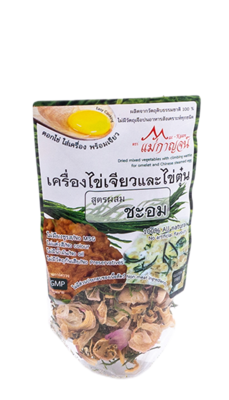 Dried Mixed Vegetables With Climbing Wattle For Omelet And Chinese Steamed Egg   เครื่องไข่เจียวและไข่ตุ๋นสูตรผสมชะอม