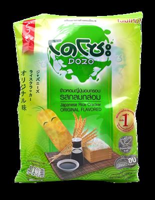 Japanese Rice Cracker Original Flavored   ข้าวหอมญี่ปุ่นอบกรอบ รสกลมกล่อม