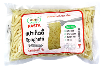 Oat Fiber Spaghetti with Konjac | สปาเก็ตตี้โอ๊ตไฟเบอร์ผสมบุก