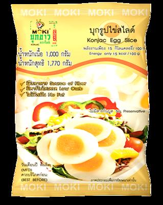 Konjac Egg Slice Shape | บุกรูปไข่สไลด์