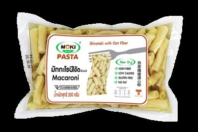 Oat Fiber Macaroni with Konjac | มักกะโรนีโอ๊ตไฟเบอร์ผสมบุก
