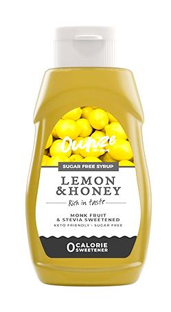 Lemon Honey Keto Syrup   ไซรัปหญ้าหวาน กลิ่นน้ำผึ้งมะนาว