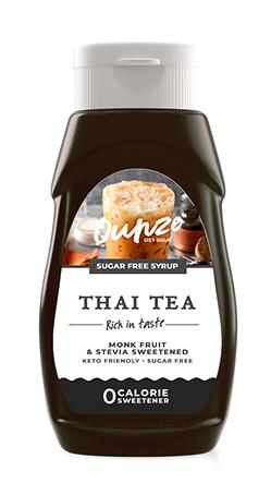 Thai Tea Keto Syrup   ไซรัปหญ้าหวาน กลิ่นชาไทยโบราณ