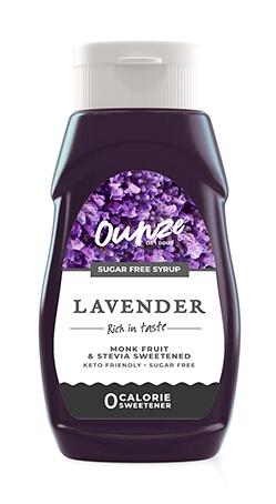 Lavender Keto Syrup   ไซรัปหญ้าหวาน กลิ่นลาเวนเดอร์