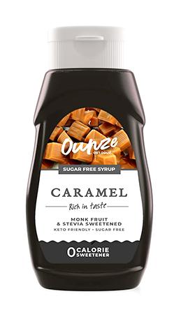 Caramel Keto Syrup | ไซรัปหญ้าหวาน กลิ่นคาราเมล