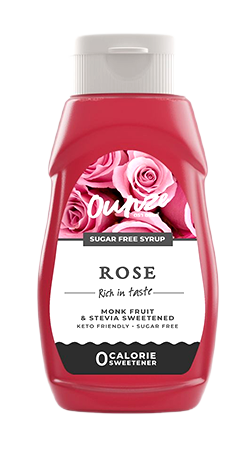 Rose Keto Syrup | ไซรัปหญ้าหวาน กลิ่นกุหลาบ